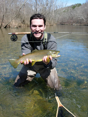 Missouri trout fishing and fly fishing on the north fork for Missouri trout fishing