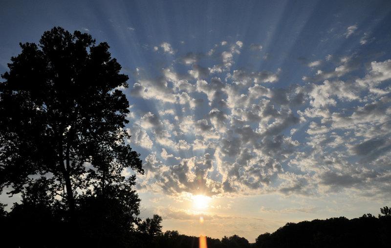 A late summer dawn