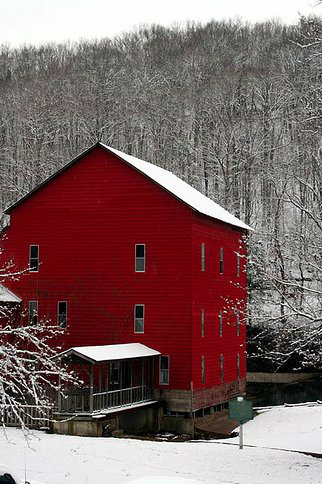 Rockbridge Mill on Spring Creek in February