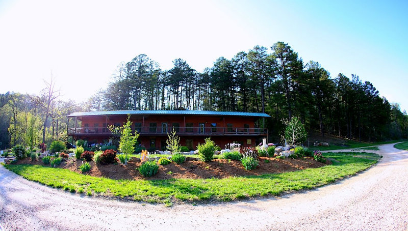 River of Life Farm Office and Restaurant last April 20th