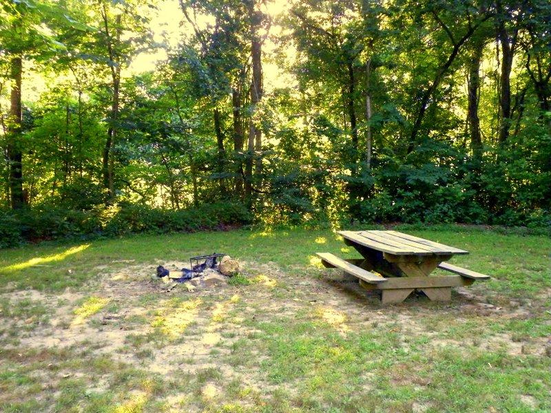 Missouri Ozarks camping on North Fork River