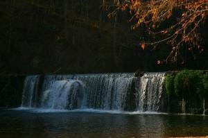 Falls at Rockbridge at noon November 6th 2008