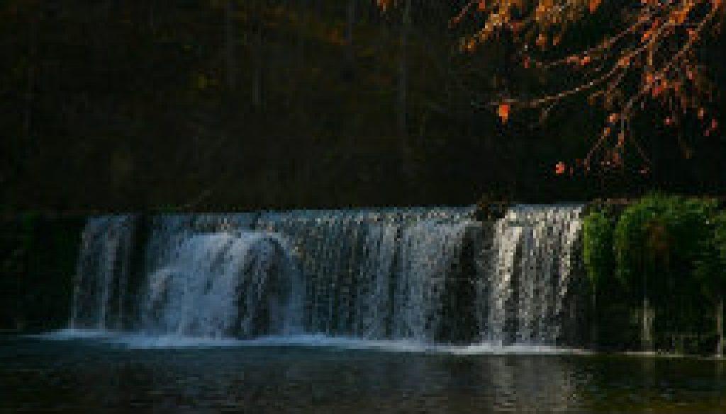 Falls at Rockbridge at noon November 6th 2008 featured
