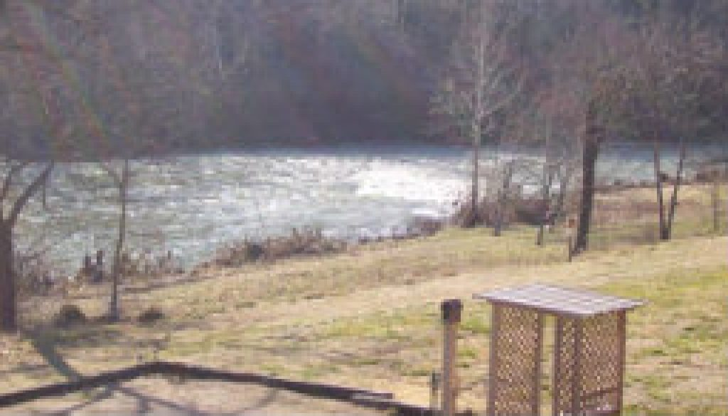 High water at the falls on feb 13 09 featured