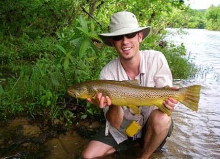 Missouri Fly Fishing Guide Kyle Kosovich