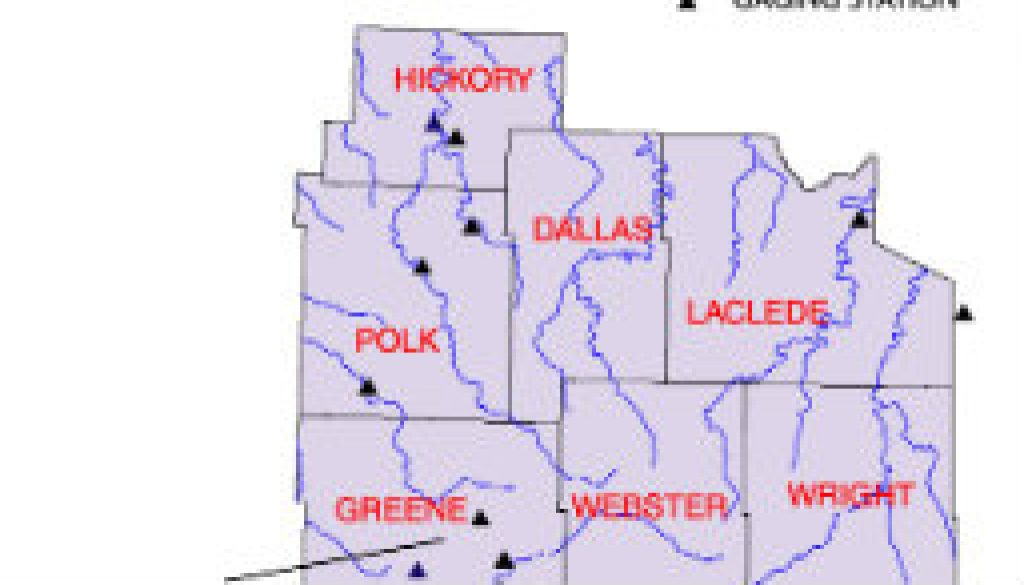 Nice new SC Missouri Streams Capsule River Data featured