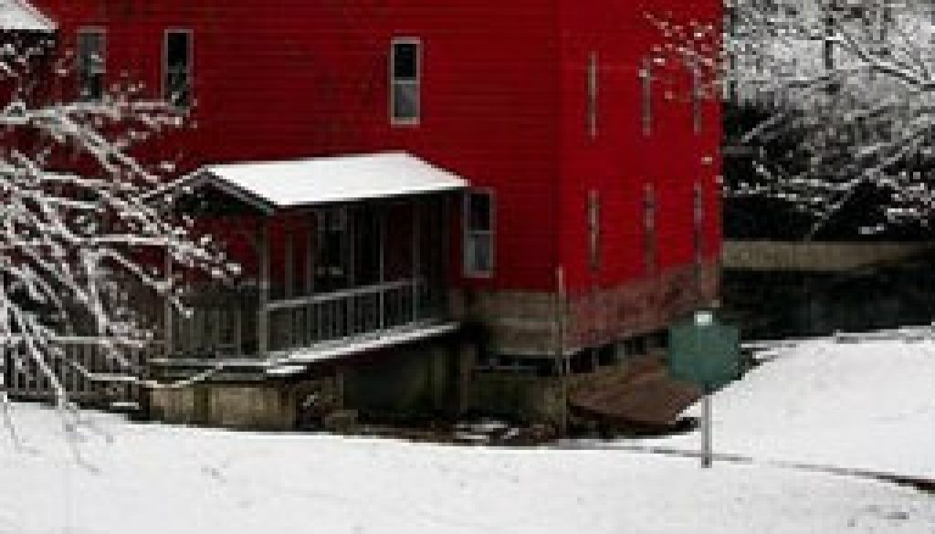 Rockbridge Mill on Spring Creek in February featured