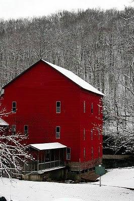 Rockbridge Mill on Spring Creek in February