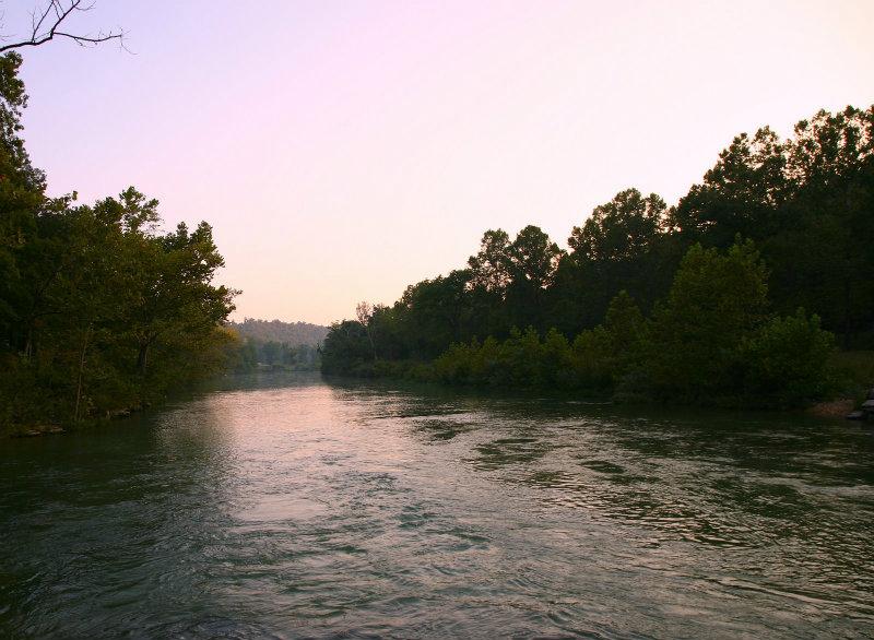 Sundown on the North Fork