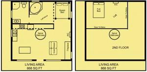 Treetop Loft floor plan