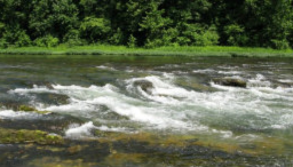 The Falls of the North Fork at 395 CFS featured