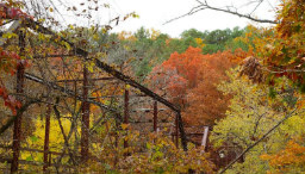 The bridge over the North Fork at Hebron 23 Oct featured
