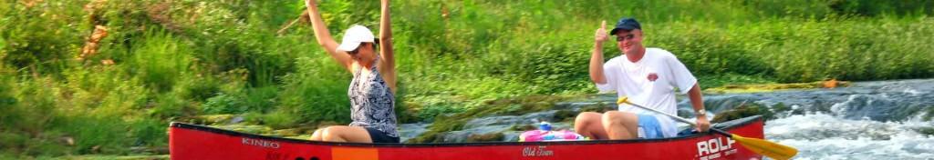 Missouri Vacation Activities - Canoeing Kyaking
