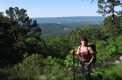 Caney Mountain Ozark Missouri Hiking