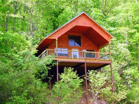 Missouri Ozarks Romantic Treehouse cabin