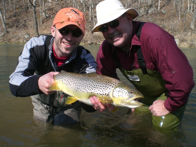 missouri trout fishing and fly fishing on the north fork river
