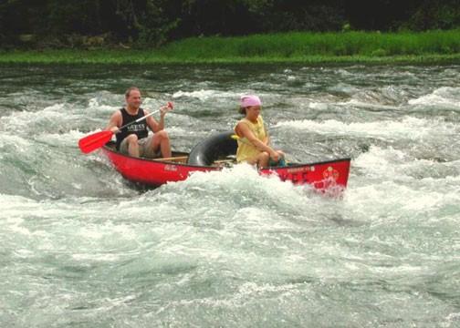 Missouri Ozarks canoeing