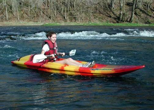 Missouri Ozarks kayaking