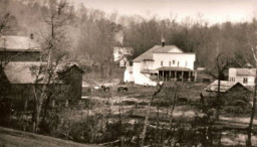 old picture of rockbridge town featured