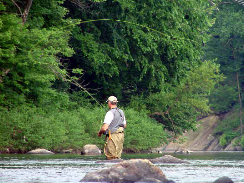 missouri fly fishing guide rusty doughty trout fishing