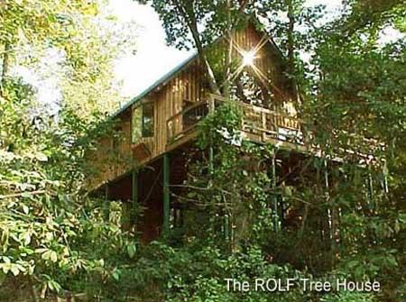 Missouri tree house cabin