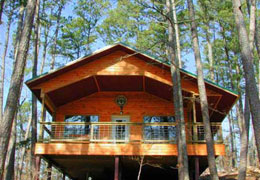 Missouri Ozarks honeymoon lodging