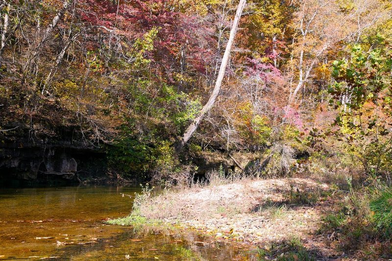 A late fall day on Spring Creek above Rockbridge Mill