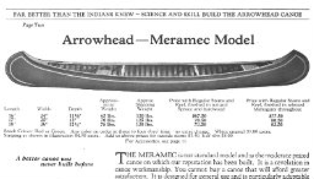 Arrowhead canoe going to ROLF in early August featured