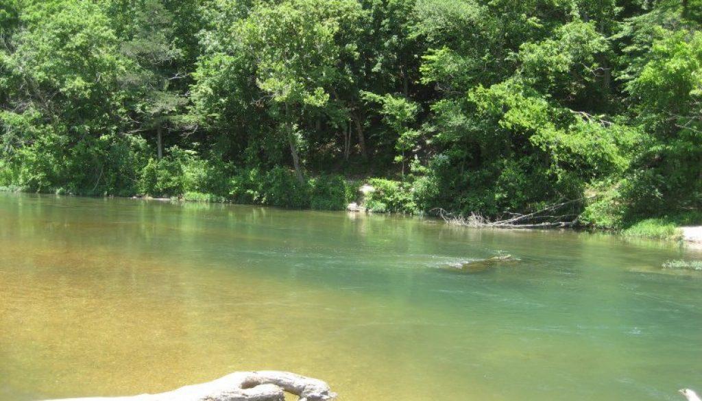 Beautiful Bryant Creek in late June1