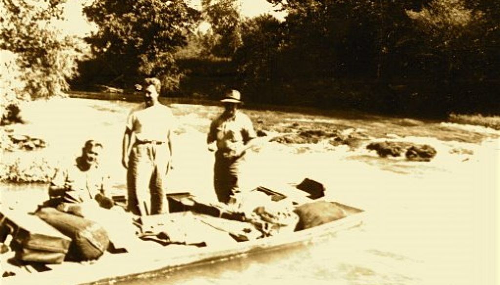Jon Boats at Falls 1929 and 20081