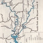Maps from 1st edition Missouri Ozark Waterways 1965