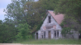 Old buildings at Highway 14 and County W featured