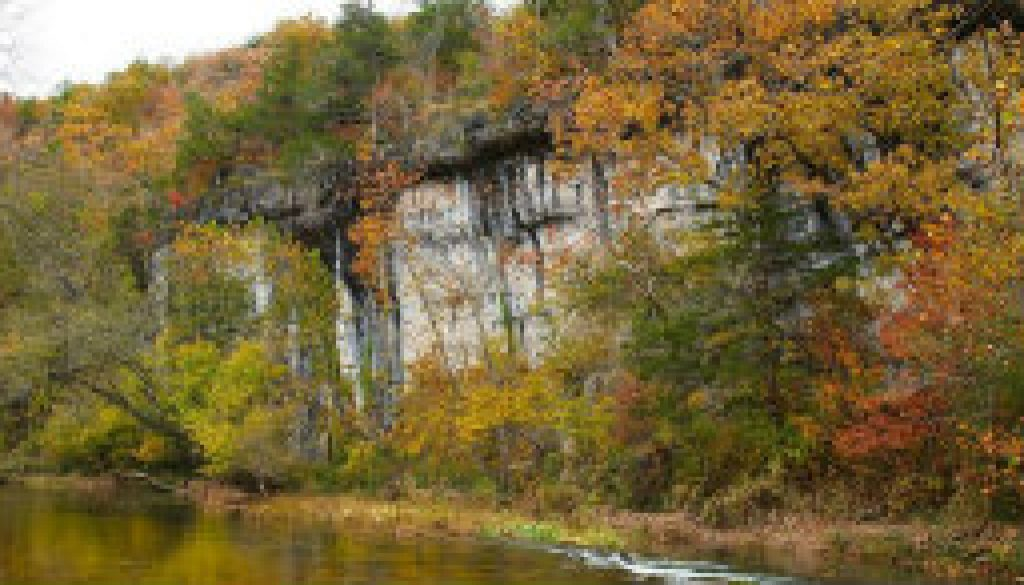 The beauty of Vera Cruz access on the Bryant Creek featured