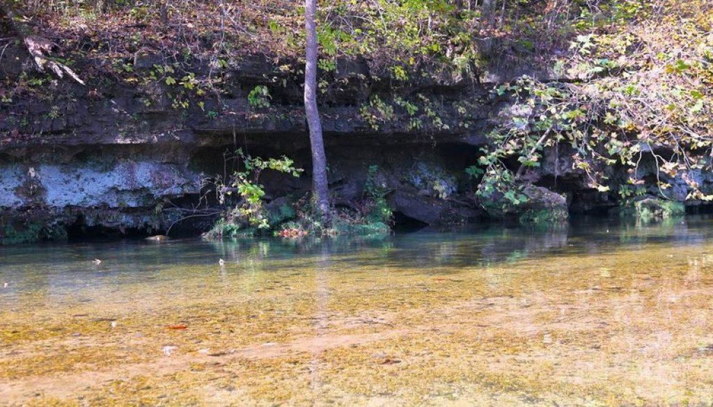 The beauty of Vera Cruz access on the Bryant Creek