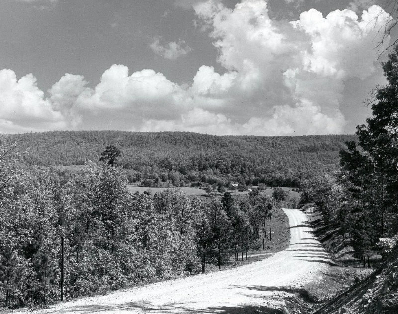 West Plains to Dora Road in 1964