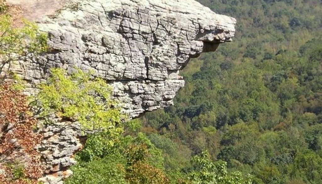 Worthwhile day trip from ROLF to Hawksbill Crag