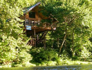 Bungalow Treehouse cabin