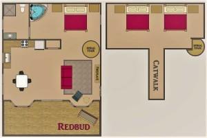 Missouri Redbud Treehouse Cabin
