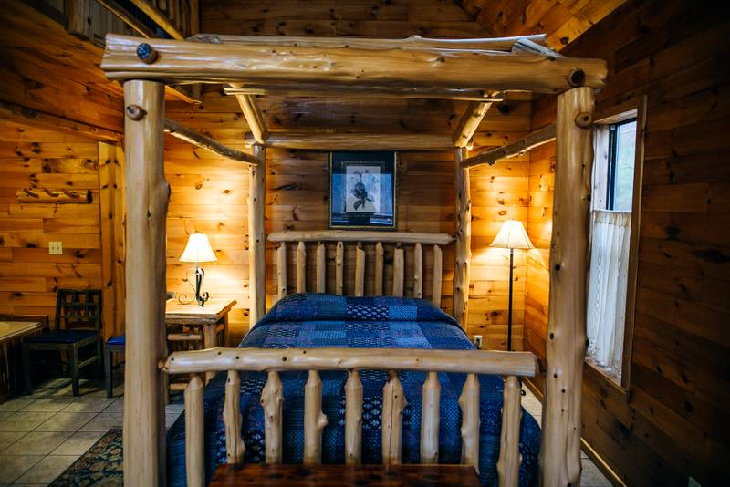The Treetop Loft Cabin On The North Fork River A