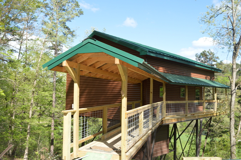 The Redbud Treehouse Cabin On The North Fork River A