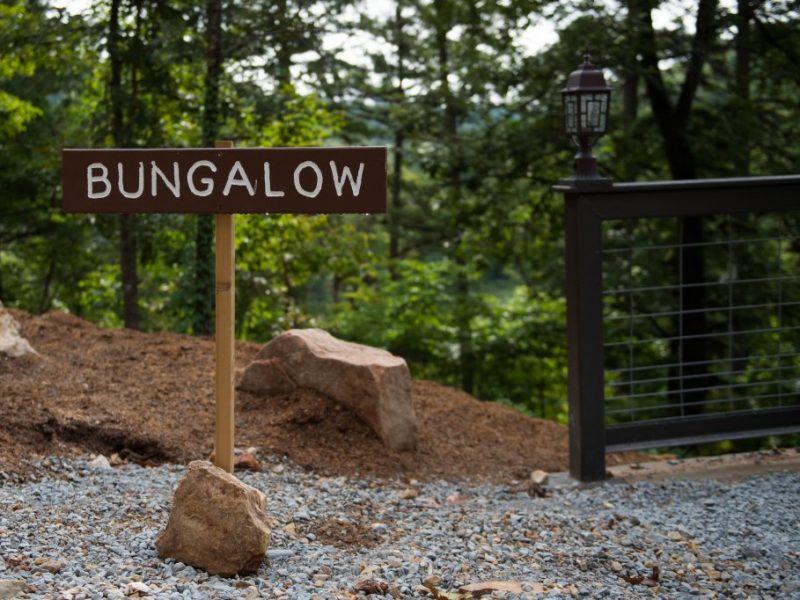 Bungalow sign exterior