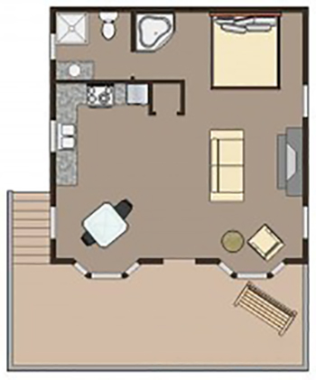 Whispering Pine floor plan