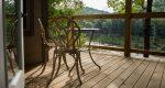 Hideaway deck