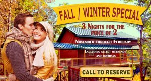 Fall and winter specials