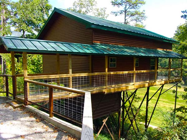 Missouri Family Vacation Wisteria Cabin
