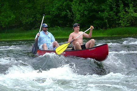 Missouri canoeing Ozarks North Fork River