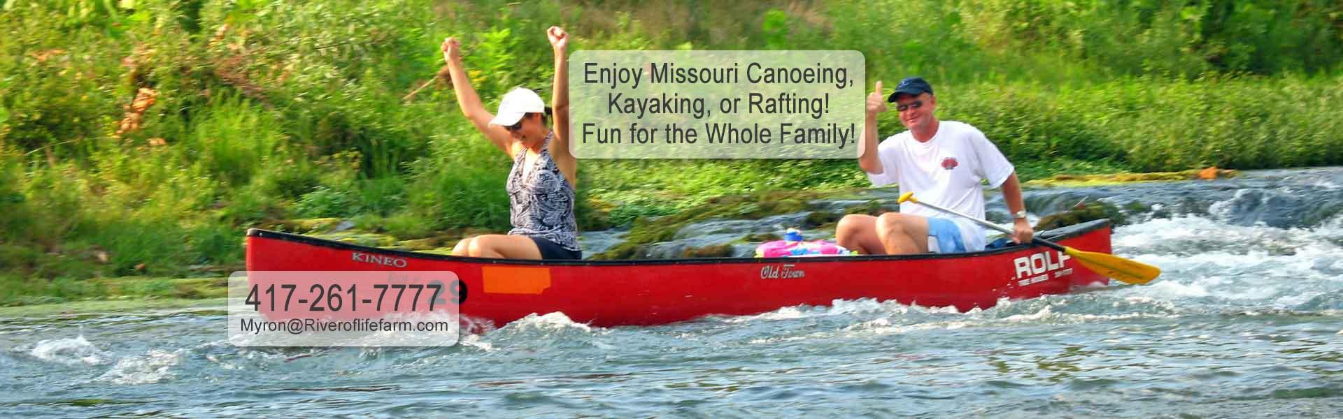 River of Life Farm Missouri Vacation