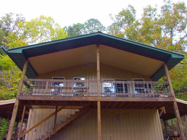 Missouri Trout Loft Family Vacation Fly Fishing Cabin