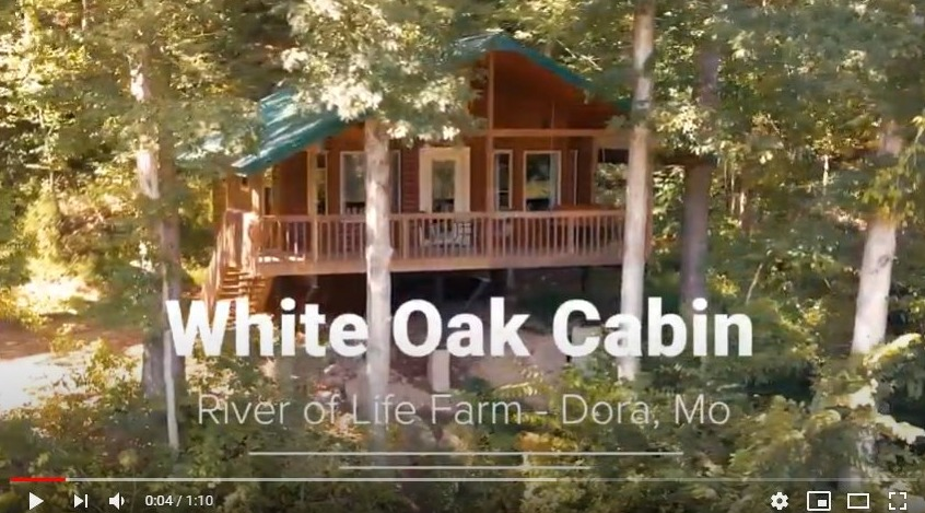 White Oak Cabin River of Life Farm
